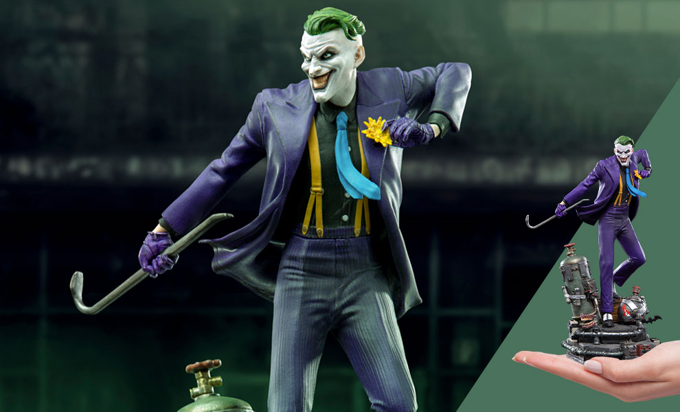 Gallery Feature Image of The Joker 1:10 Scale Statue - Click to open image gallery