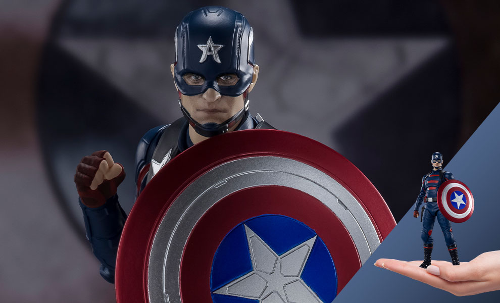 Gallery Feature Image of Captain America (John F. Walker) Collectible Figure - Click to open image gallery