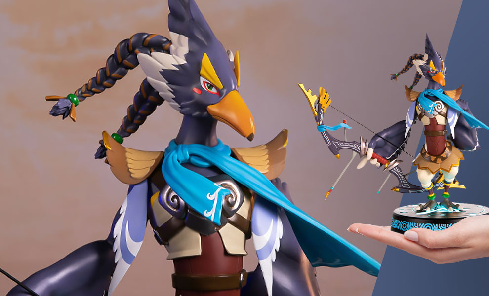 Gallery Feature Image of The Legend of Zelda: Breath of the Wild Revali (Collector's Edition) Statue - Click to open image gallery