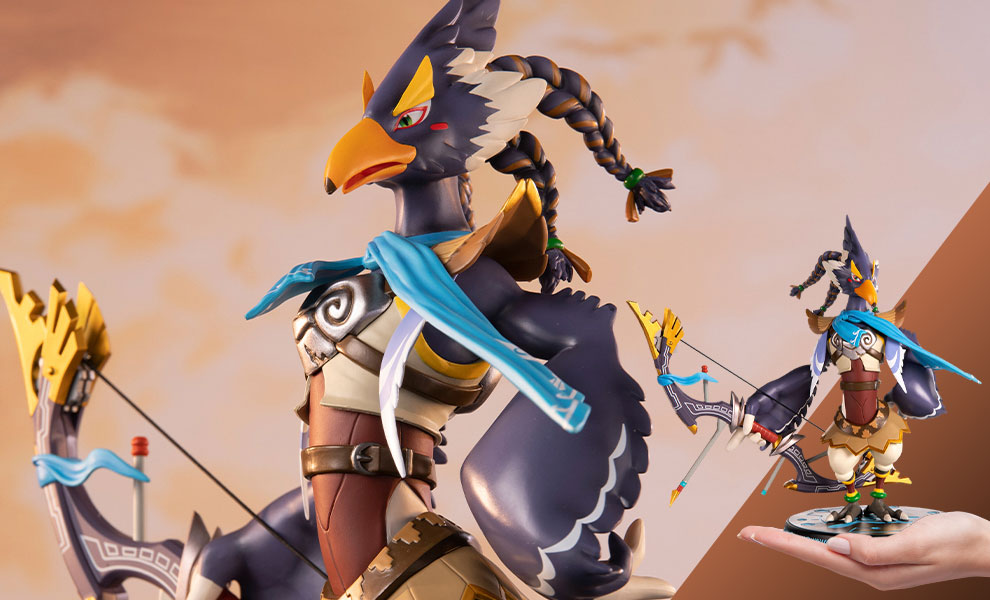 Gallery Feature Image of The Legend of Zelda: Breath of the Wild Revali (Standard Edition) Statue - Click to open image gallery