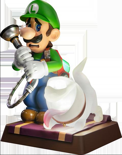 First 4 Figures Luigi's Mansion 3 Luigi (Collector's Edition) Statue