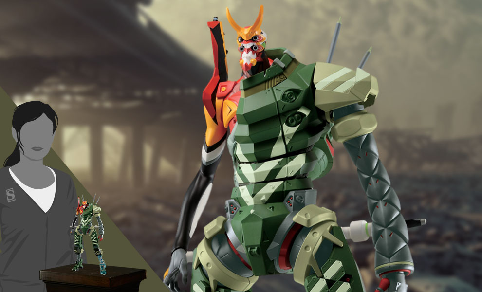 Gallery Feature Image of EVA-02α (OPERATION STARTED!) Collectible Figure - Click to open image gallery
