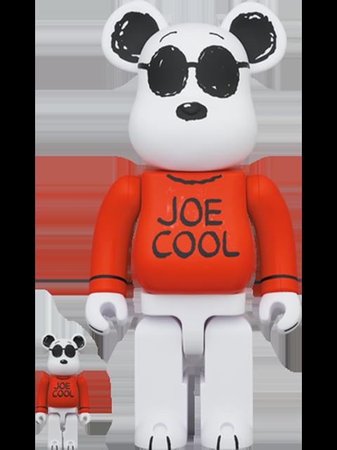 Medicom Toy Be@rbrick Joe Cool 100% and 400% Bearbrick