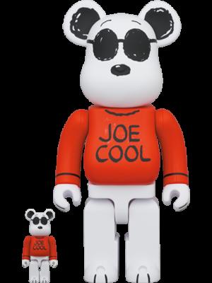 Be@rbrick Joe Cool 100% and 400% Bearbrick