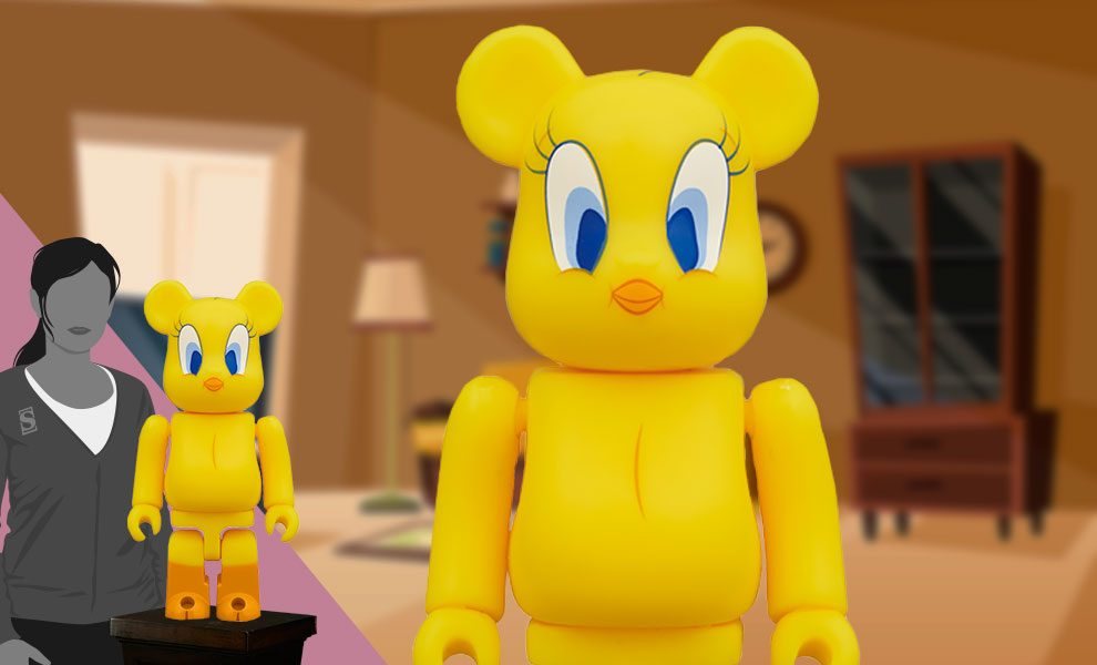 Gallery Feature Image of Be@rbrick Tweety 1000% Bearbrick - Click to open image gallery