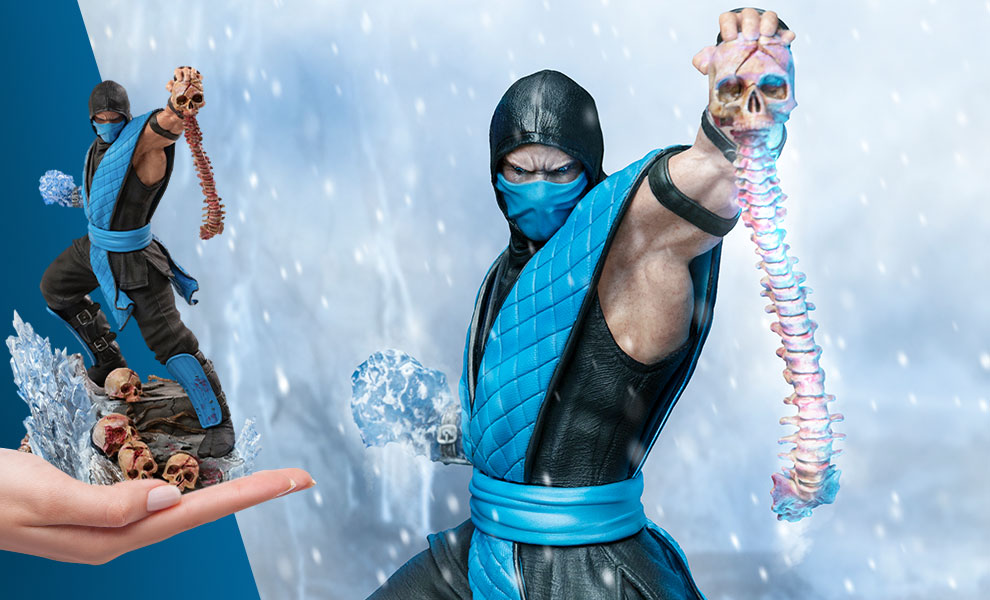Gallery Feature Image of Sub-Zero 1:10 Scale Statue - Click to open image gallery