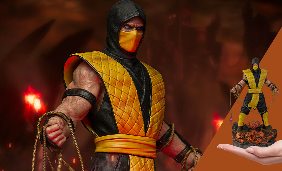 Gallery Feature Image of Scorpion 1:10 Scale Statue - Click to open image gallery