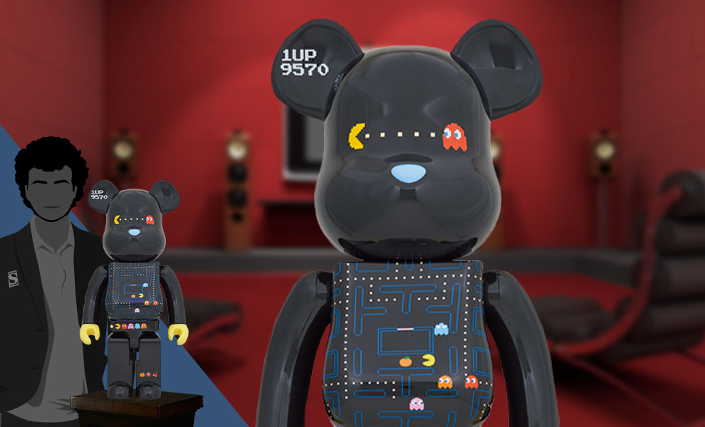 Gallery Feature Image of Be@rbrick Pac-Man 1000% Bearbrick - Click to open image gallery