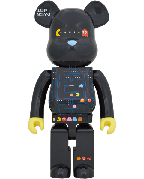 Medicom Toy Be@rbrick Pac-Man 1000% Bearbrick