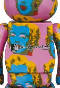 Gallery Image of Be@rbrick Andy Warhol's Marilyn Monroe #2 100% & 400% Bearbrick