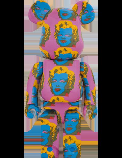 Medicom Toy Be@rbrick Andy Warhol's Marilyn Monroe #2 1000% Bearbrick
