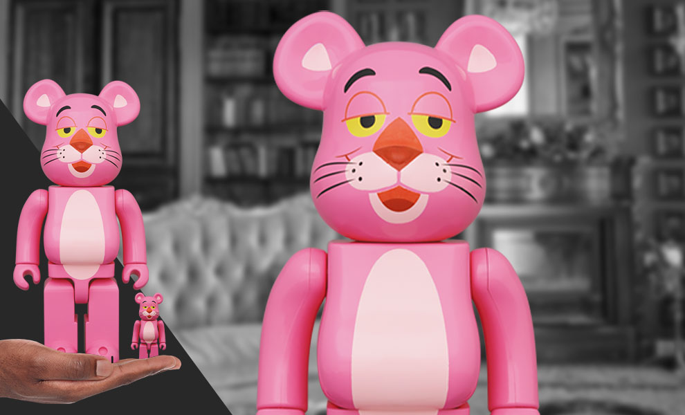 Gallery Feature Image of Be@rbrick Pink Panther 100% & 400% Bearbrick - Click to open image gallery