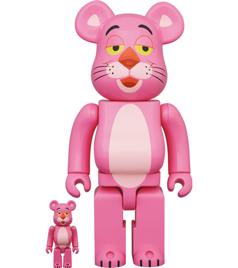 Medicom Toy Be@rbrick Pink Panther 100% & 400% Bearbrick