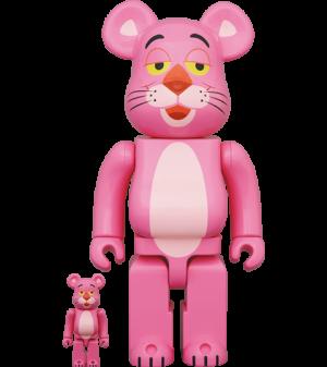 Be@rbrick Pink Panther 100% & 400% Bearbrick
