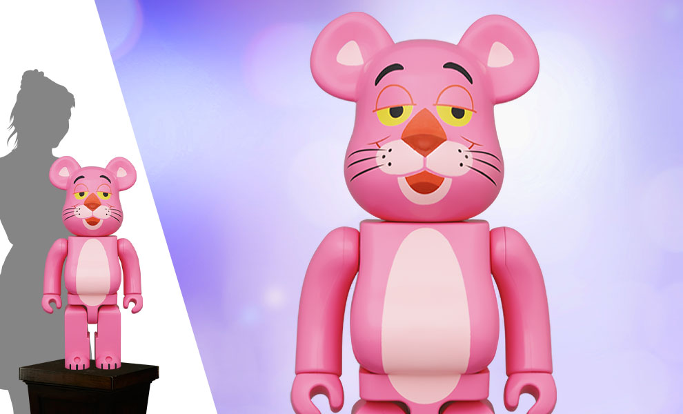 Gallery Feature Image of Be@rbrick Pink Panther 1000% Bearbrick - Click to open image gallery