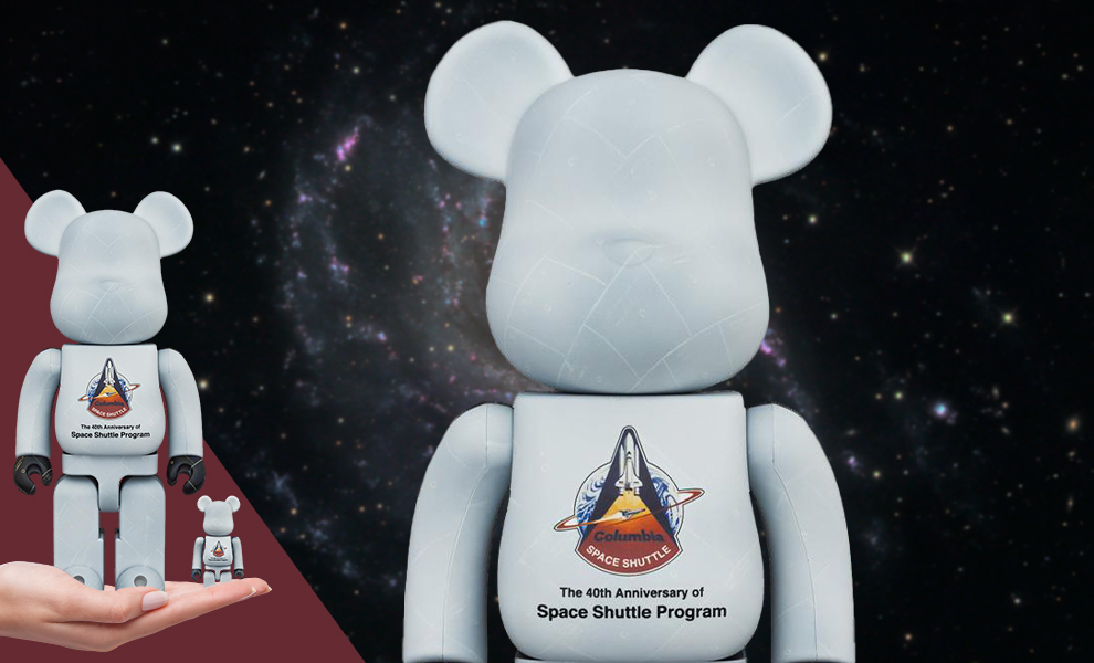 Gallery Feature Image of Be@rbrick Space Shuttle 100% & 400% Bearbrick - Click to open image gallery