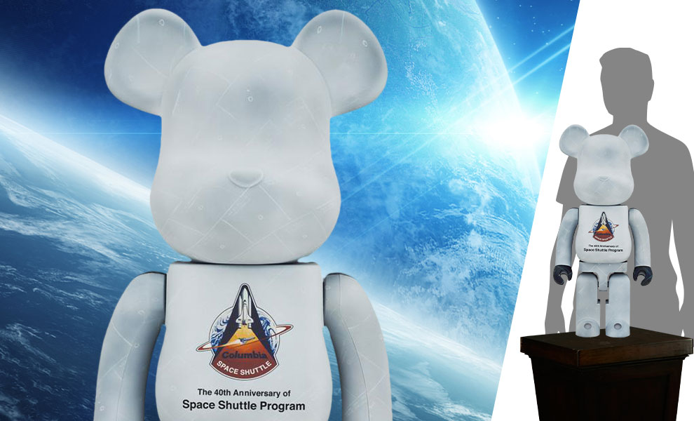 Gallery Feature Image of Be@rbrick Space Shuttle 1000% Bearbrick - Click to open image gallery