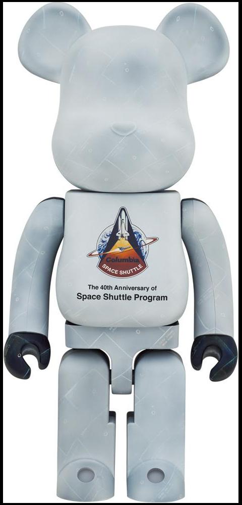 Medicom Toy Be@rbrick Space Shuttle 1000% Bearbrick
