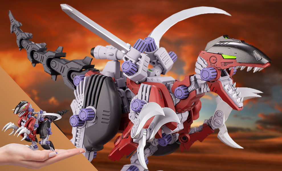 Gallery Feature Image of EZ-027 REV RAPTOR Model Kit - Click to open image gallery