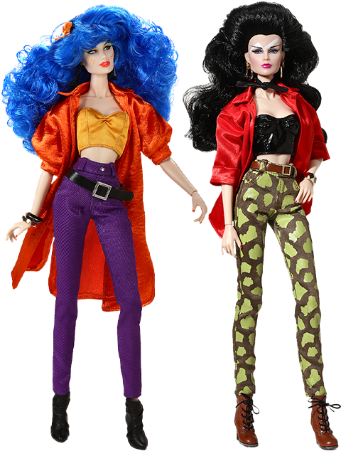 """Integrity Toys I like Your Style - Mary """"Stormer"""" Phillips™ and Jetta Burns™ Two-Doll Gift Set Collectible Doll"""