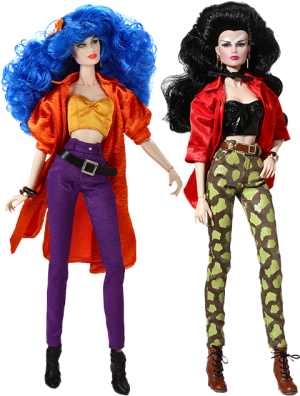 """I like Your Style - Mary """"Stormer"""" Phillips™ and Jetta Burns™ Two-Doll Gift Set Collectible Doll"""
