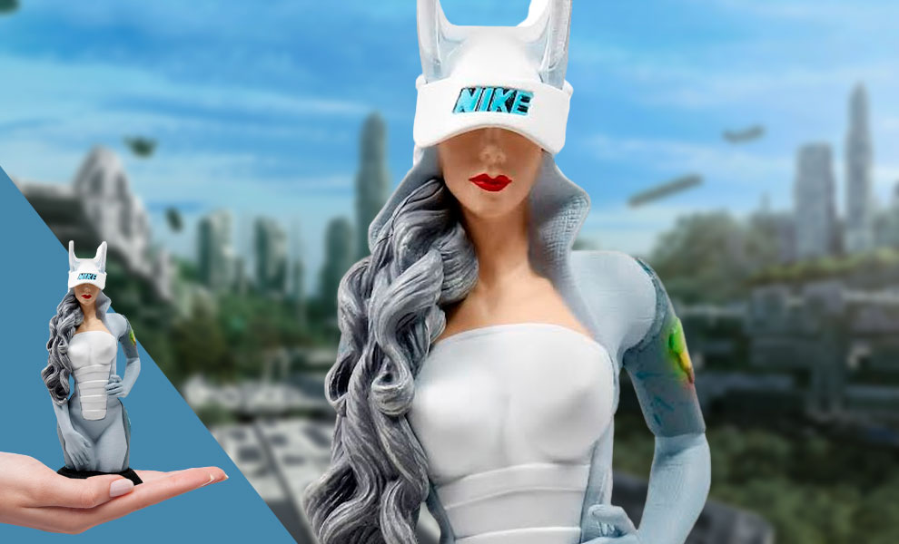 Gallery Feature Image of Air Mag Girl Vinyl Collectible - Click to open image gallery
