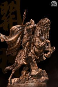 Gallery Image of Three Kingdoms Generals Guan Yu Bronzed Statue
