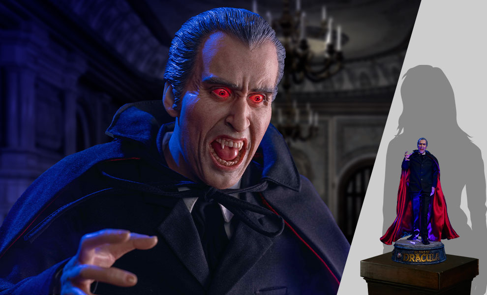 Gallery Feature Image of Count Dracula 2.0 (DX With Light) Statue - Click to open image gallery