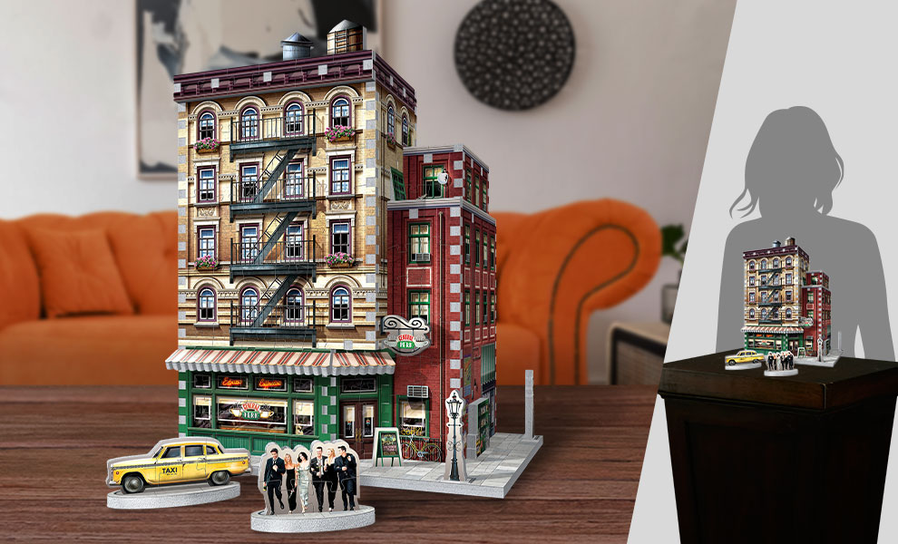 Gallery Feature Image of Central Perk 3D Puzzle Puzzle - Click to open image gallery