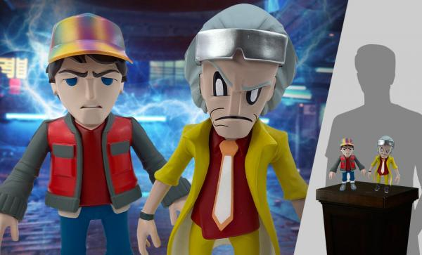 FREE U.S. Shipping Doc and Marty Collectible Set by 3D Retro