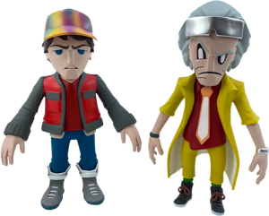 Doc and Marty Collectible Set