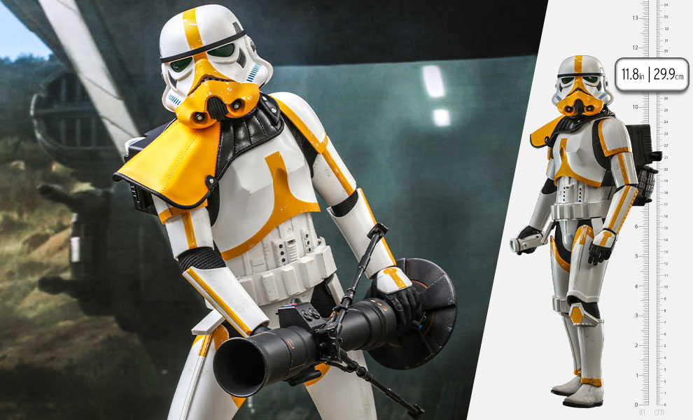 Gallery Feature Image of Artillery Stormtrooper™ Sixth Scale Figure - Click to open image gallery