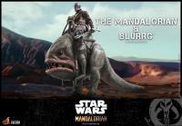 Gallery Image of Mandalorian™ & Blurrg™ Sixth Scale Figure Set