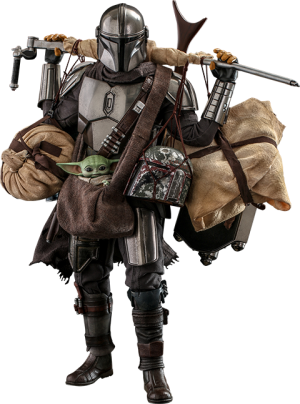 The Mandalorian™ and Grogu™ (Deluxe Version) Sixth Scale Figure Set