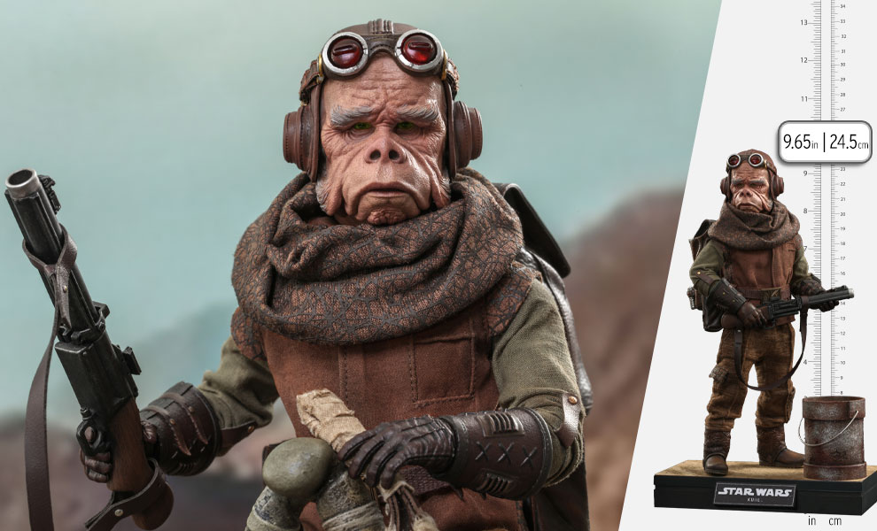 Gallery Feature Image of Kuiil™ Sixth Scale Figure - Click to open image gallery