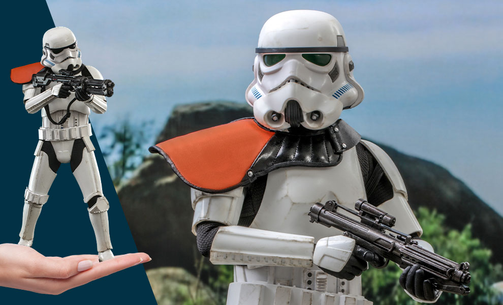 Gallery Feature Image of Stormtrooper Commander™ Sixth Scale Figure - Click to open image gallery