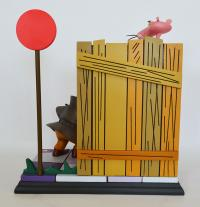 Gallery Image of Pink Panther and the Inspector Statue