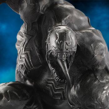 Venom Black Malice Figurine Pewter Collectible