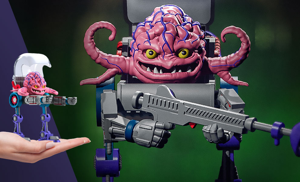Gallery Feature Image of Krang Action Figure - Click to open image gallery