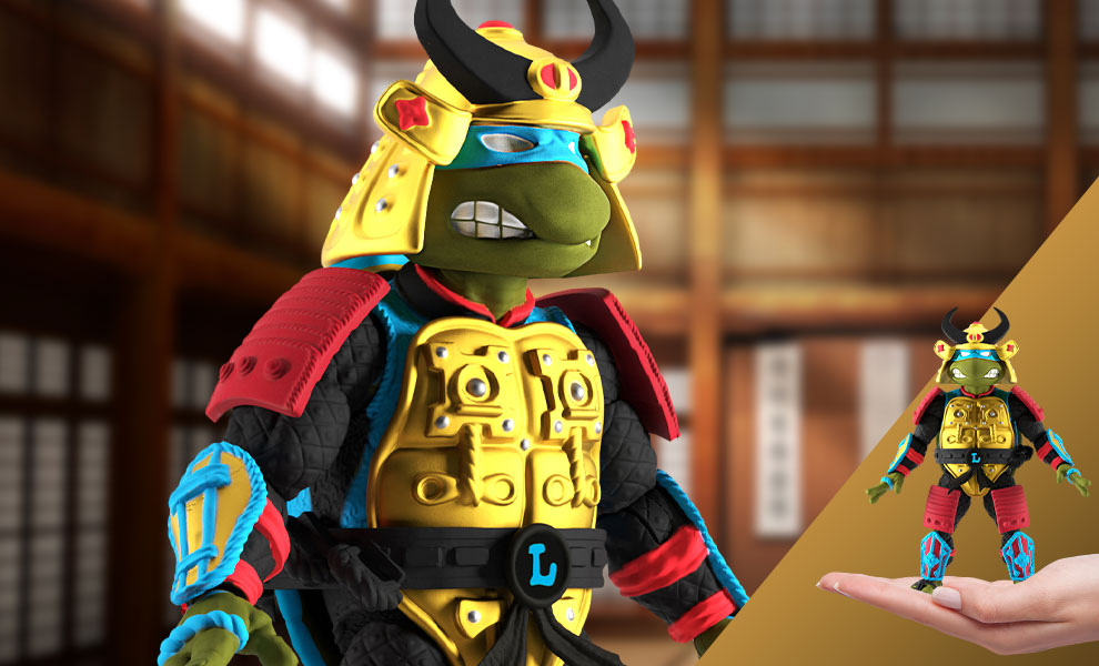 Gallery Feature Image of Leo the Sewer Samurai Action Figure - Click to open image gallery