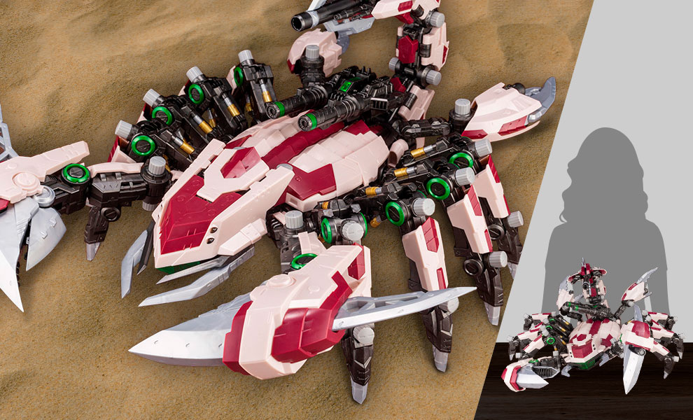Gallery Feature Image of RZ-036 DEATH STINGER ZS Model Kit - Click to open image gallery