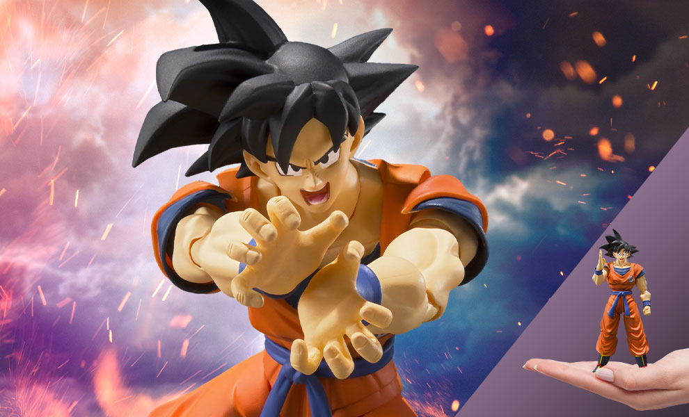 Gallery Feature Image of Son Goku (A Saiyan Raised On Earth) Figure - Click to open image gallery
