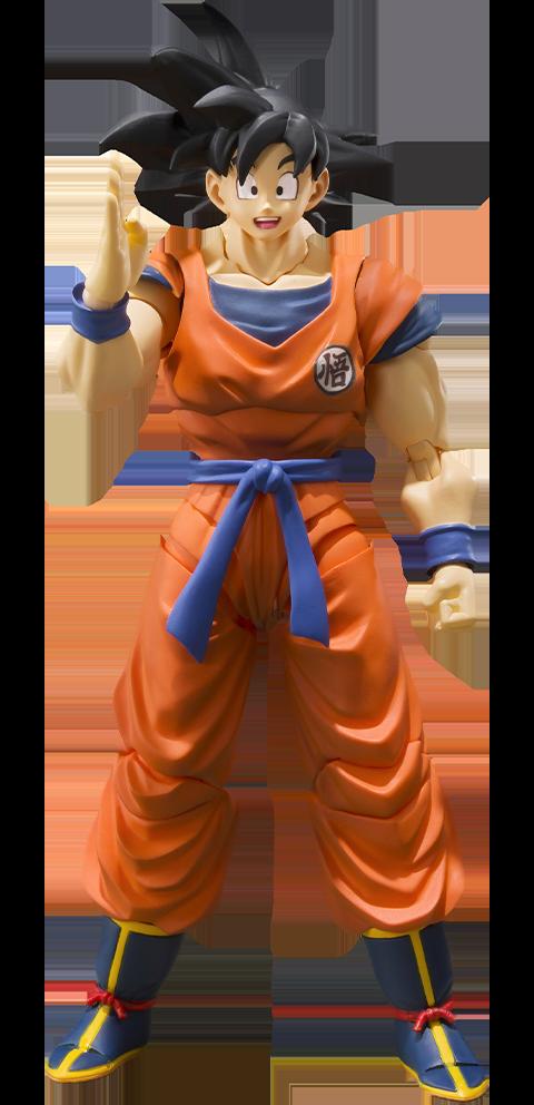 Bandai Son Goku (A Saiyan Raised On Earth) Figure