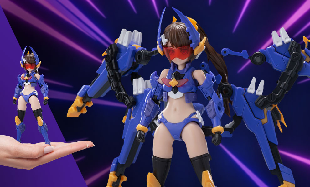Gallery Feature Image of Stag Beetle Girl Model Kit - Click to open image gallery