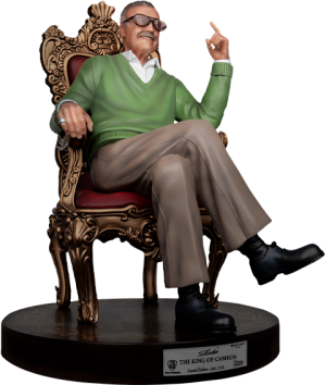 Stan Lee the King of Cameos Statue