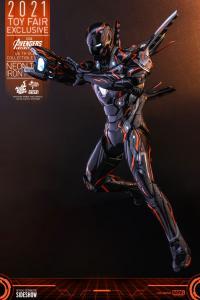 Gallery Image of Iron Man Neon Tech 4.0 Sixth Scale Figure