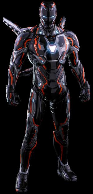Iron Man Neon Tech 4.0 Sixth Scale Figure