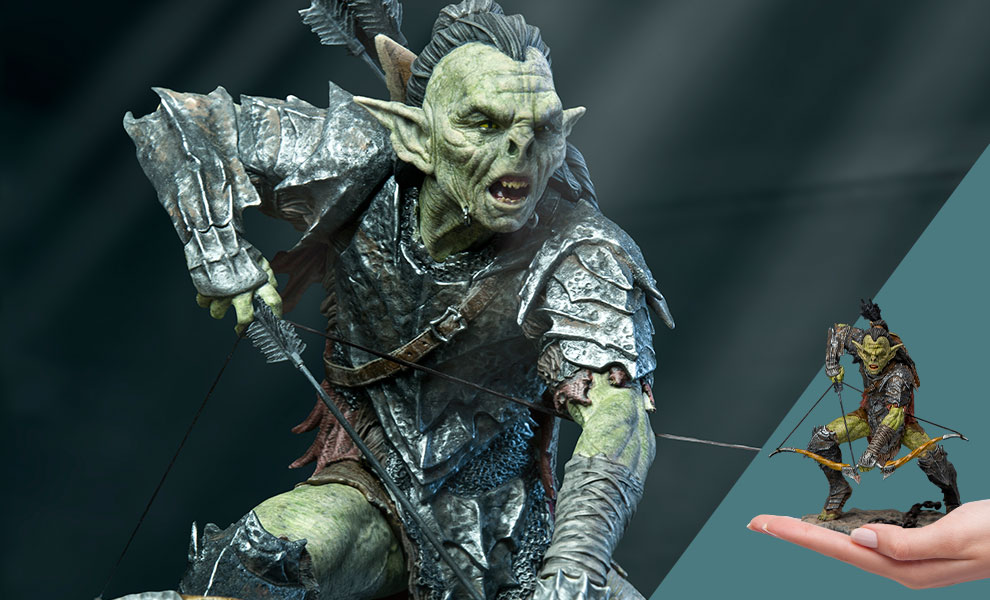 Gallery Feature Image of Archer Orc 1:10 Scale Statue - Click to open image gallery