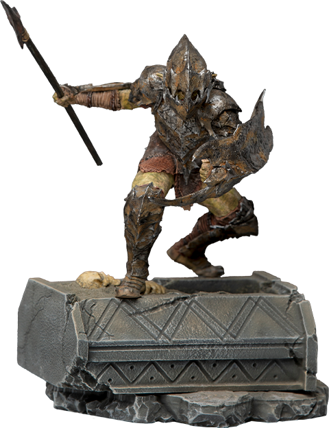 Iron Studios Armored Orc 1:10 Scale Statue
