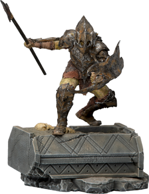 Armored Orc 1:10 Scale Statue